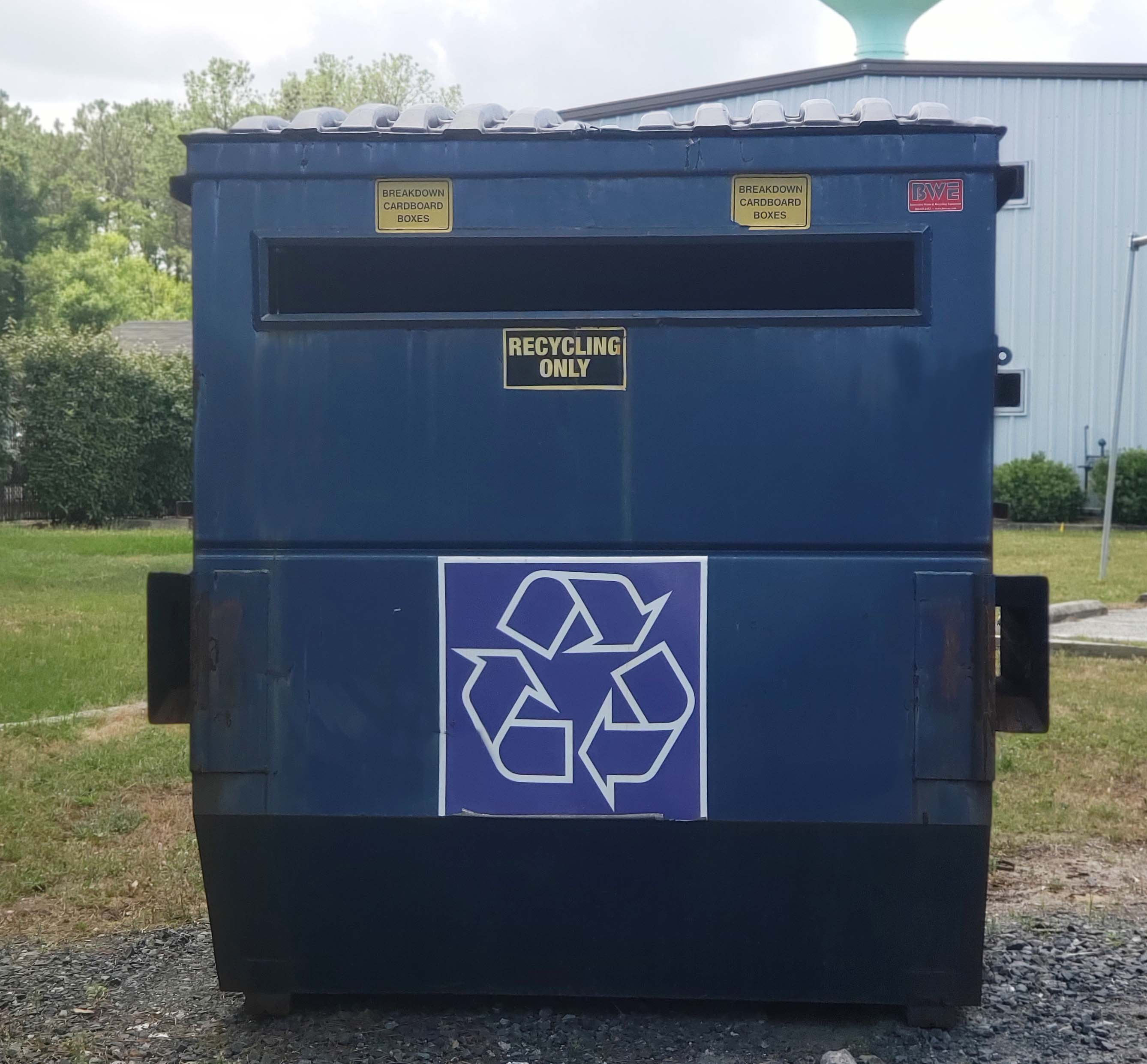 Public Works Recycling Container